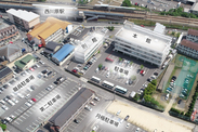 駐車場 航空写真